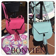 Bonvien... Etre in colors... #leather #leatherbag #deri #artisan #handmade #bag #colors #welovecolors #summertime #etrerocks #yerlimali #fashion #bursa #bamboopark