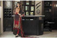Firdous Cloth Mills Chiffon Dresses 2013 for Women 014