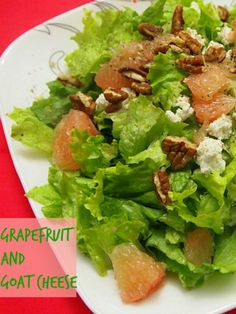 Salad with Grapefruit and Goat Cheese