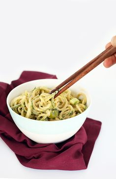 Easy Sesame Cucumber Noodles