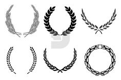 wreath in logo | Laurel wreaths have been a well known symbol of victory and glory ...