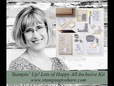 How to Assemble the Stampin\' Up! Lots of Happy Kit - Video Tutorial - #stampingtoshare
