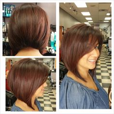 Stacked Bob...eventually:)