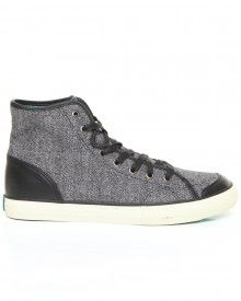 Valenzuela High Marble Knit Sneakers