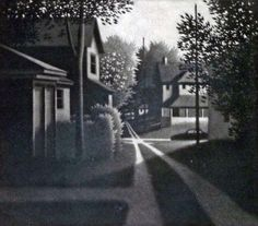 """Limited Edition Print """"Alleys Springfield"""" by Robert Kipniss His work is gorgeous!!! I'm not selling it, I just really dig it."""