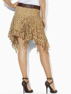 Battenburg Lace Skirt -  RalphLauren