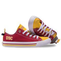 USC Trojans SKICKS Low Top Shoes