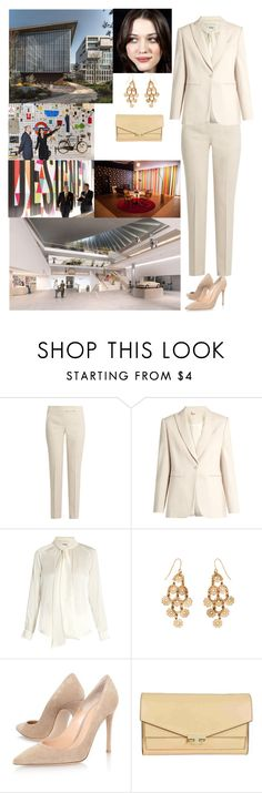 """""""Visiting the new Design Museum, Kensington High Street, Kensington, London, W8 6AG"""" by new-generation-1999 ❤ liked on Polyvore featuring MaxMara, Accessorize, Gianvito Rossi and Tory Burch"""