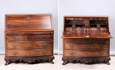 Old portuguese writing desk