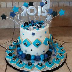Graduation cake for 8th grader