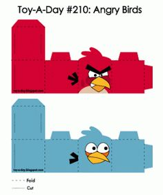Image detail for -Toy-A-Day: Day Angry Birds Bird Crafts, Fun Crafts, Diy And Crafts, Festa Angry Birds, Bird Birthday Parties, Bird Party, Bird Boxes, Bird Theme, Crafts For Boys