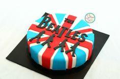 The Beatles Cake. Ob-La-Di Ob-La-Da life goes oooon 