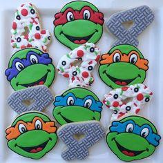 Ninja turtle cookies!