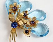 This Mother's Day, Get her a Vintage Bouquet from the GVS Team: A treasury by BuyVintageJewelry that features our brooch!  Double Click through to see all the gorgeous vintage floral items!