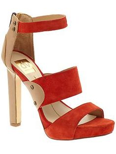 DV by Dolce Vita Phoenix sandals in Hot Coral - $99 at Piperlime