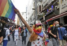 Istanbul police blocked a trans pride march on Sunday with tear gas and rubber bullets, after deploying a large contingent of officers to enforce a ban on LGBT pride events issued Friday by the city's governor.