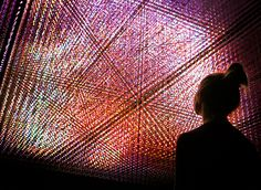 japanese art collective teamlab presents 'living digital space and future parks' at pace art + technology in menlo part.