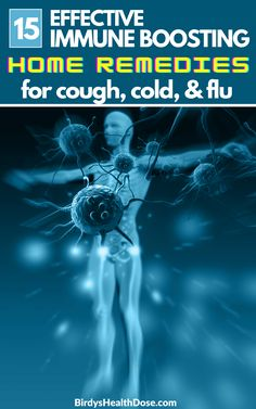 Below are 15 effective immune-boosting natural remedies that relieve the symptoms of cough, flu. Health And Wellness Coach, Health And Wellbeing, Health And Nutrition, Health Fitness, Home Remedy For Cough, Cough Remedies, Fitness Facts, Herbal Plants, Fit Board Workouts