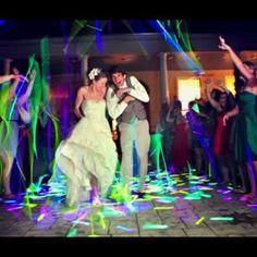 Glow Sticks And Led Light Wedding Send Offwedding
