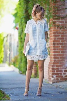 How to Wear: The Best Casual Outfit Ideas - Fashion Casual Dresses, Short Dresses, Fashion Dresses, Date Night Dresses, Summer Dresses, Trendy Fashion, Womens Fashion, Petite Fashion, Curvy Fashion