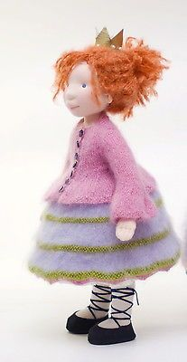 Handmade OOAK cloth waldorf doll Princess*FREE SHIPPING* steiner