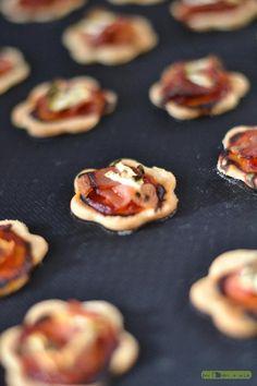 Biscuits apéritif façon pizza