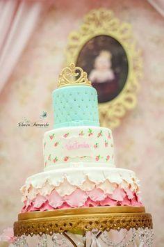Ideas Shabby Chic Birthday Party Cake For 2019 1st Birthday Girls, Princess Birthday, Princess Party, Birthday Parties, Birthday Ideas, Princess Cakes, Cake Birthday, Pretty Cakes, Beautiful Cakes