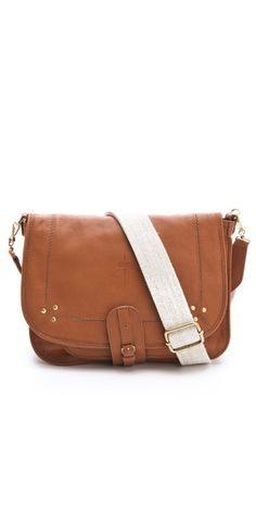 white and brown bag