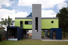 Container House by Danilo Corbas, São Paulo, Brazil - the page I repinned this from is dedicated to shipping container architecture