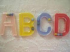 Letters 'A', 'B', 'C', 'D'…….