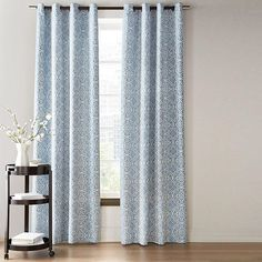 Whole Home®/MD Medallion Jacquard Pole-Top Panel With Back Tabs