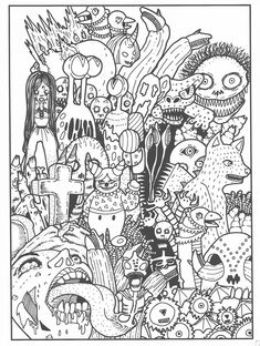 Badass Coloring Pages : badass, coloring, pages, Badass, Adult, Coloring, Pages