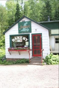 The Jampot 6500 State Highway M26, Eagle Harbor, MI 49950 It's a small shop run by the Society of Saint John. The shelves are filled with homemade jams and baked goods.
