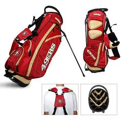 NFL San Francisco 49ers Fairway Stand Bag by Team Golf. Buy now @ ReadyGolf.com
