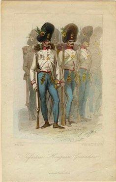 Hungarian Grenadiers 1854