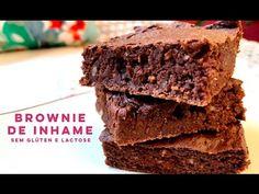 Brownie com inhame sem glúten e lactose - Lactose Não por Flavia Machioni