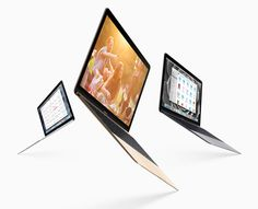 super slim apple macbook unveiled in gold, silver and space gray