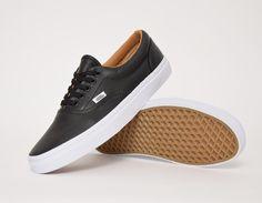 For him #Vans Era Premium Leather Black #sneakers