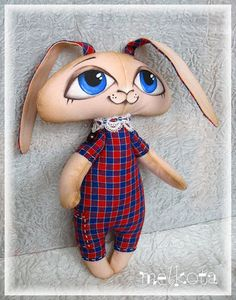 Patterns soft toy rabbit. How to sew a rabbit / Master Class