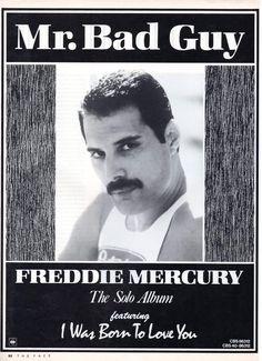 Mr. Bad Guy, released today 4/29 in 1985 by Freddie Mercury