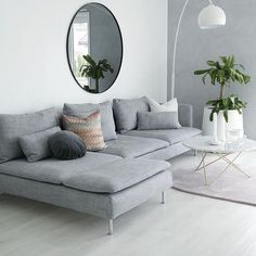 Design Living Room, Living Room Grey, Living Room Decor, Living Rooms, Family Rooms, Modern Minimalist Living Room, Minimalist Home, Modern Living, Minimalist Furniture