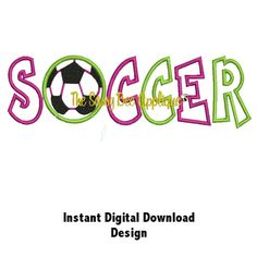 Hey, I found this really awesome Etsy listing at http://www.etsy.com/listing/117065980/dd-soccer-applique-machine-embroidery