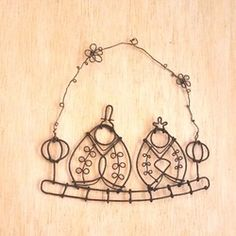 Hina Dolls, Wire Ornaments, Wire Crafts, Dream Catcher, Garland, Handmade, Dream Catchers, Hand Made, Feather Mobile