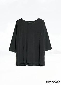 Mango Women's Dropped Seam T-Shirt