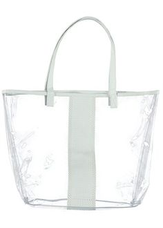 clear beach bag from matalan's summer shop only £4