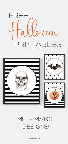Mix and Match Free Halloween Printables Darling mix and match Halloween printables available in many different sizes! Source by dajih Diy Halloween Gifts, Halloween Wall Decor, Halloween Labels, Diy Holiday Gifts, Halloween Prints, Halloween Crafts For Kids, Halloween Fun, Holiday Treats, Printable Halloween Decorations
