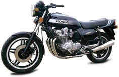 The Honda CB900FZ - the European version we didn't get. In addition to different paint, it came standard with lower bars, rearsets, and a few other minor differences from the U.S. version. (Motorcycle Classics January/February 2007)