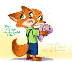♥Wilde Hopps♥ — This is really cute! There's not enough art of...