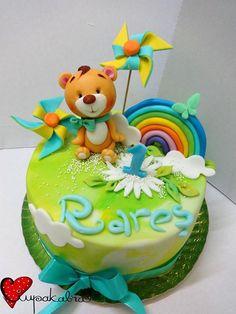 Rainbow bear cake Ciupakabra