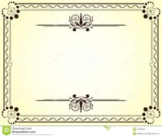 free share certificate template bc - simple borders design archives border designs its